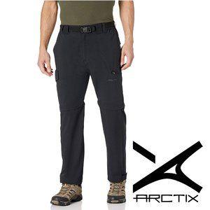 Arctix Men's Cliff Convertible Trail Pant, Black
